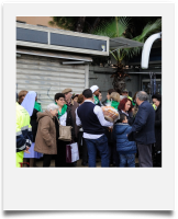 Secondo Pellegrinaggio del Centro, accompagnato dal Protezione civile comune di Carlentini (SR) 17/11/2016
